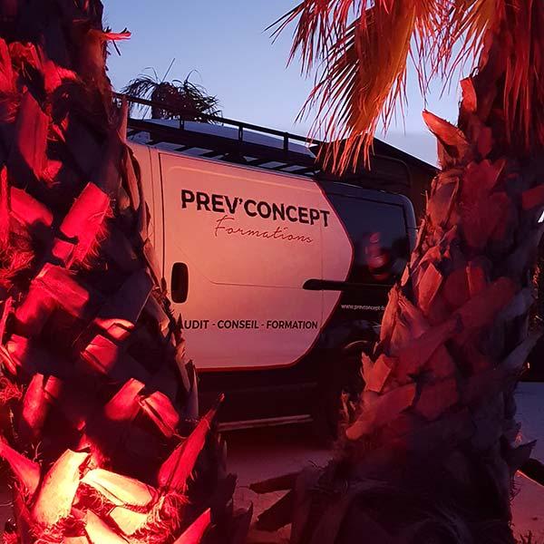 véhicule prev'concept, prévention sécurité