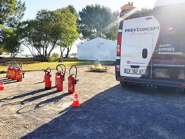 véhicule prev'concept, prévention sécurité incendie