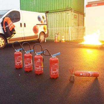 Formation prévention du risque incendie