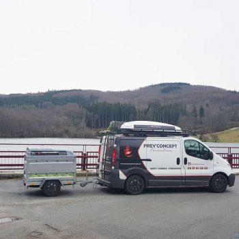 Prev'Concept Formations, véhicule prévention incendie