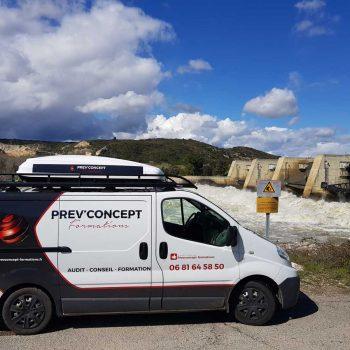 véhicule Prev'Concept Formations, audit conseil en sécurité en Vendée et sur toute la France